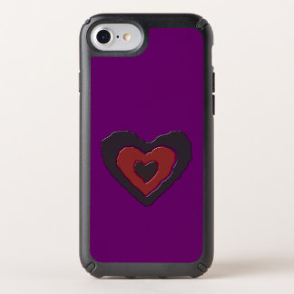 Gothic Melting Love Heart Phone Case