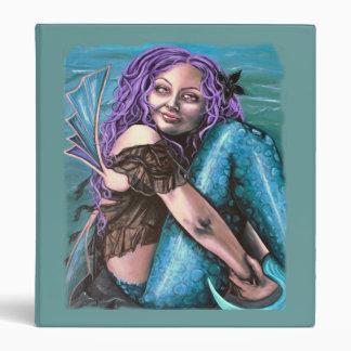 gothic mermaid artwork binder