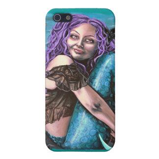gothic mermaid i phone case