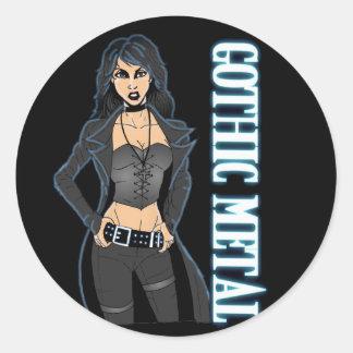 Gothic Metal Sticker