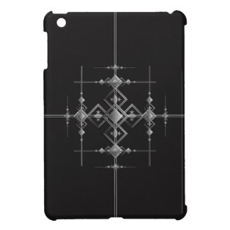 Gothic metallic pattern. iPad mini case