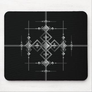 Gothic metallic pattern. mouse pad