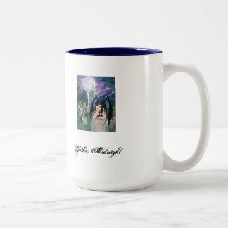 """Gothic Midnight"" Fairy Cup Mug"