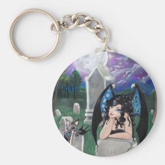 """""""Gothic Midnight"""" Keychain"""