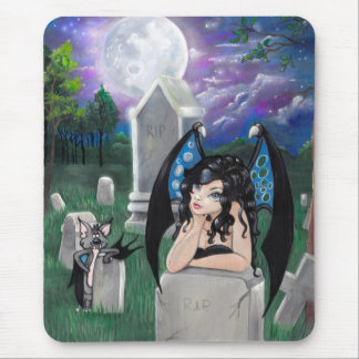 Gothic Midnight Mouse Pad