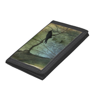 Gothic Money Holder Trifold Wallets