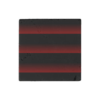 Gothic Moody Red Stone Magnet