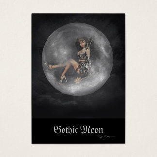 Gothic Moon - Artist Trading Cards