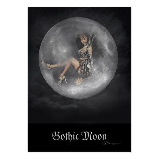 Gothic Moon - Artist Trading Cards Large Business Card