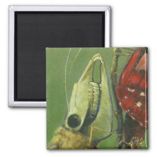 Gothic Moth Surreal Magnet