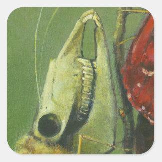 Gothic moth surreal sticker