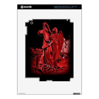 Gothic Neon Angel iPad 3  Skin iPad 3 Skin