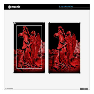 Gothic Neon Angel Kindle Fire Skin