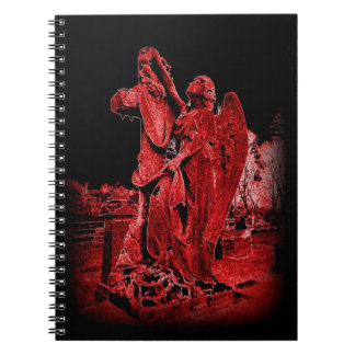 Gothic Neon Angel Notebook