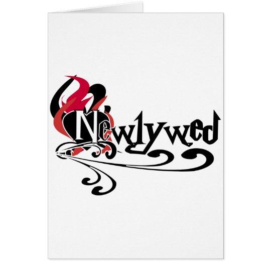 Gothic Newlywed Card