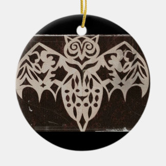 Gothic Night Creature Customizable Christmas Ornament