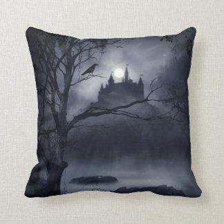 Gothic Night Fantasy Throw Pillow