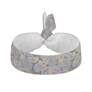 Gothic Paisley Ribbon Hair Tie