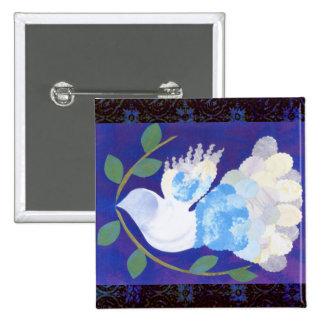 Gothic Peace Spirit Button