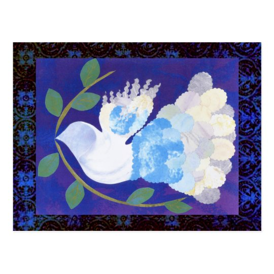 Gothic Peace Spirit Postcard