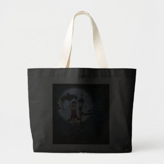 Gothic perch tote bags