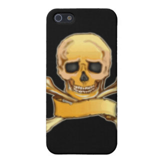 Gothic Pirate Skull & Crossbones Speck Case