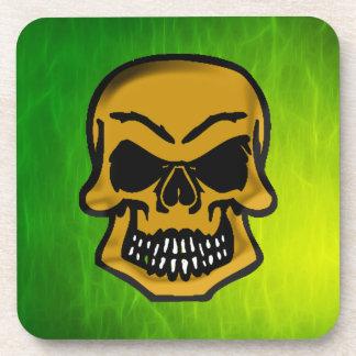 Gothic Pirates Creepy Skulls Art Coasters