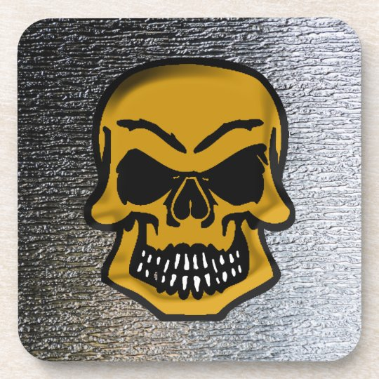 Gothic Pirates Skulls Creepy Art Coasters