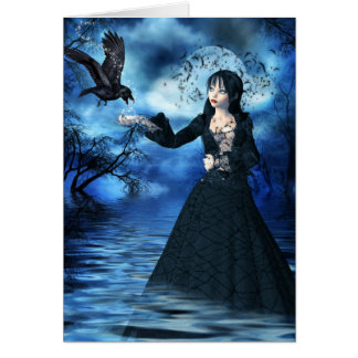 Gothic Princess Card