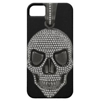 Gothic Printed Diamond Skull iPhone SE/5/5s Case