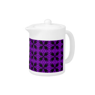 Gothic Purple and Black Pattern