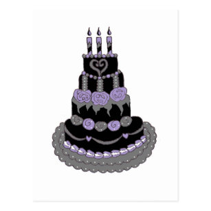 Awesome Gothic Birthday Cake Gifts On Zazzle Birthday Cards Printable Inklcafe Filternl