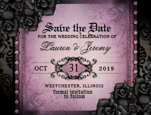 Halloween Save The Date Cards Zazzle