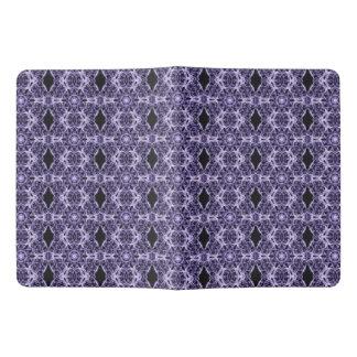 Gothic Purple Lace Fractal Pattern Extra Large Moleskine Notebook