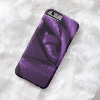 Gothic Purple Rose Barely There iPhone 6 Case