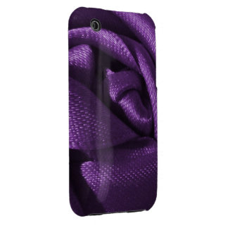 Gothic Purple Rose Case-Mate iPhone 3 Cases