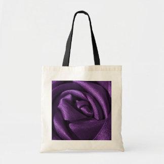 Gothic Purple Rose Tote Bag