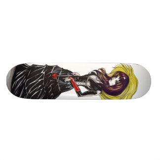 Gothic Purrr Skateboard Deck