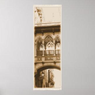 Gothic Quarter Barcelona Posters