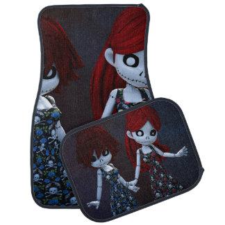 Gothic Rag Dolls Car Mat