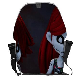 Gothic Rag Dolls Messenger Bag