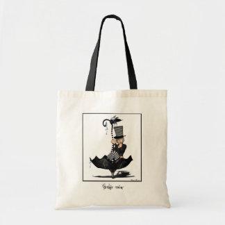 Gothic rain canvas bags