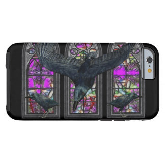 Gothic Ravens Stained Glass iPhone 6 Case