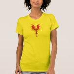 Gothic Red Dragon T Shirt