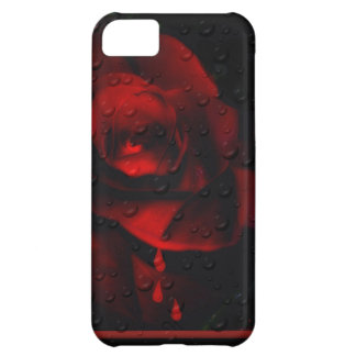 Gothic Red Rose-Bittersweet iPhone 5C Cases