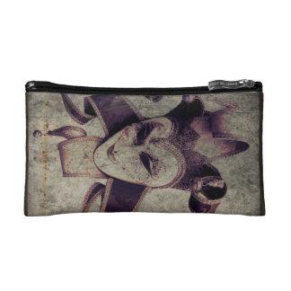 Gothic Renaissance Evil Clown Joker Makeup Bag