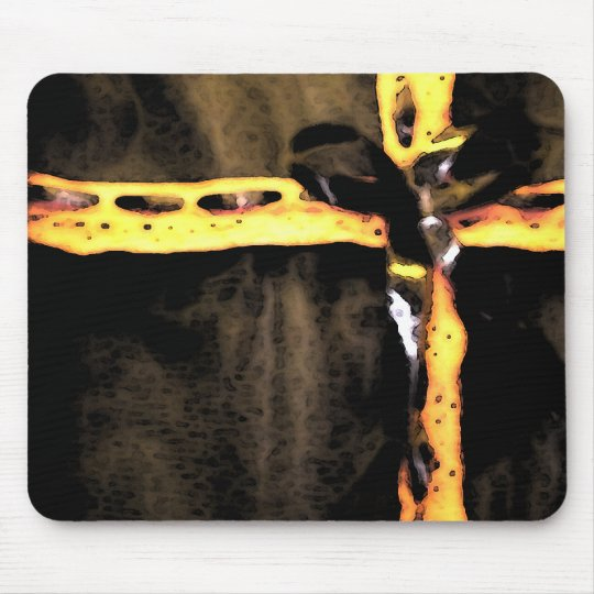Gothic Ribbon Mouse Pad