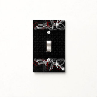 Gothic Rock Black Light Switch Cover