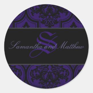 Gothic Romance Monogram Sticker B