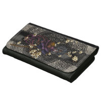 Gothic Rose and Black Lace Women's Wallet